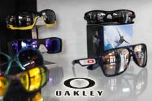 Oakley sunglasses display